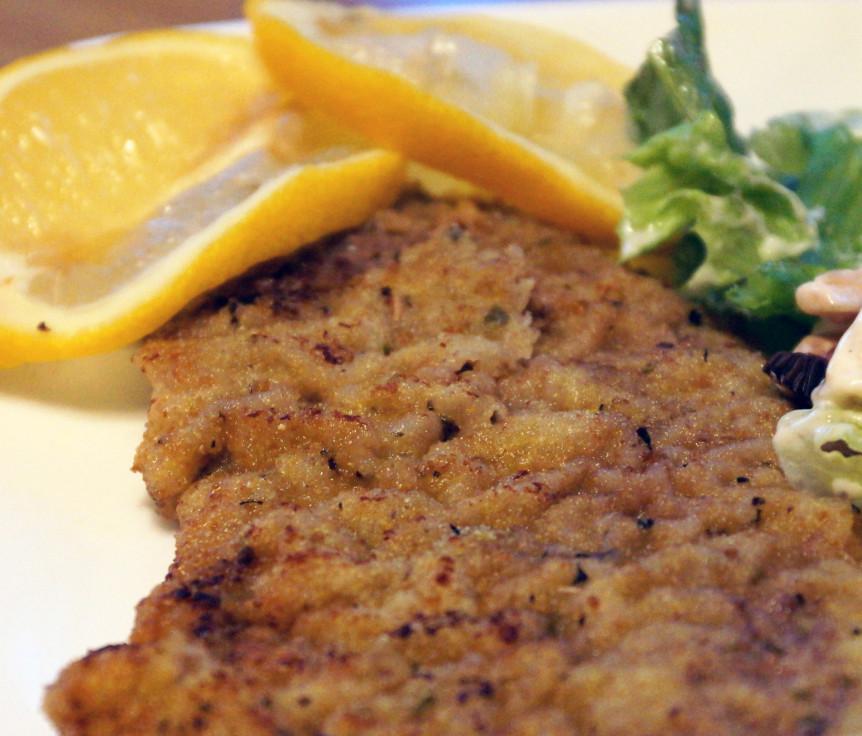 ... pork schnitzel italian schnitzel bites sumac spiced eggplant schnitzel
